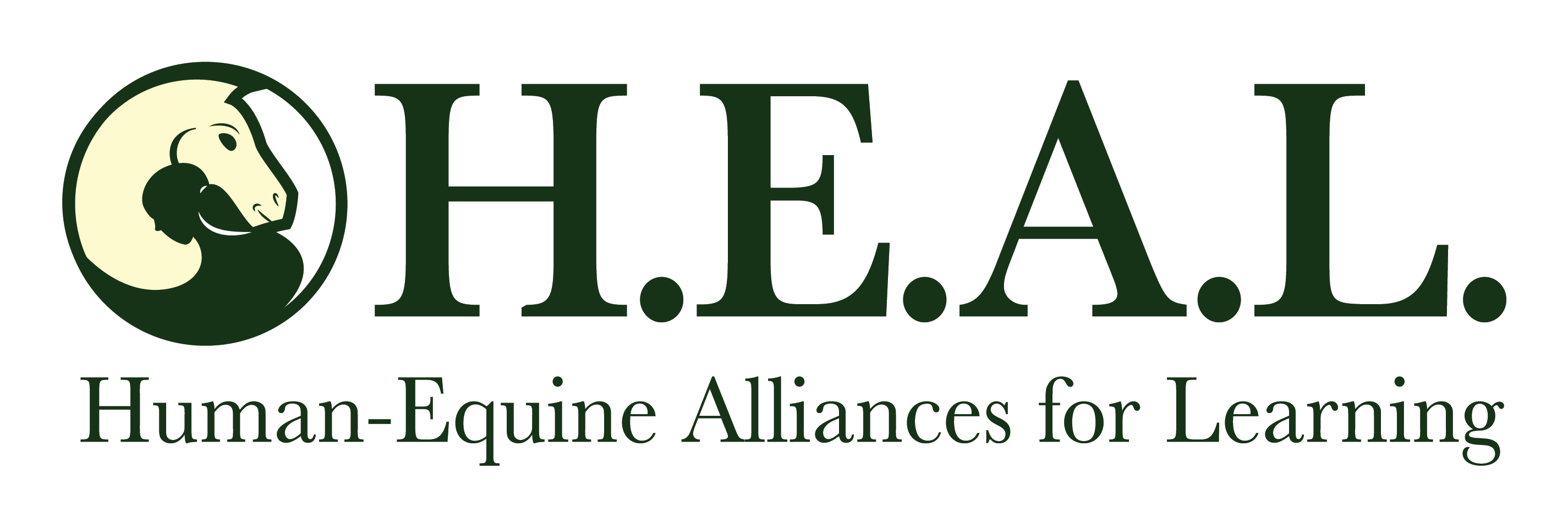 Human Equine Alliance Logo for the HEAL Method of EFPL