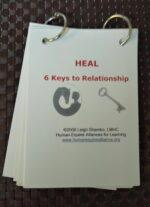 Keys to Relationship: Key card set on rings